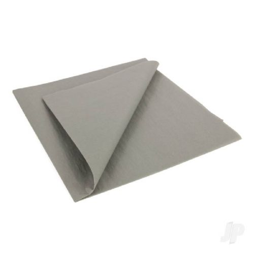 Carrier Grey Lightweight Tissue Covering Paper, 50x76cm, (5 Sheets)